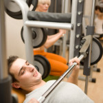 smith machine bench press 150x150 Types of Exercise Induced Hernias