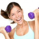 woman lifting weights 150x150 Must Have Weight Training Equipment for Every Muscle in Your Body