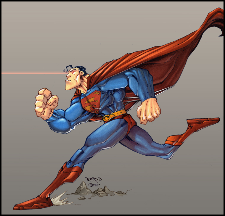 Superman Stamina - by_Red_J