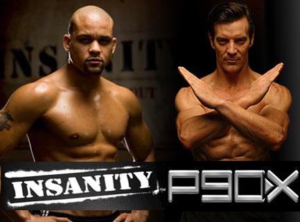 insanity workout versus p90x