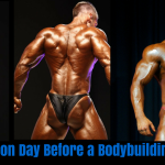 preparation day before a bodybuilding contest