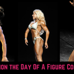 preparation day of a figure competition